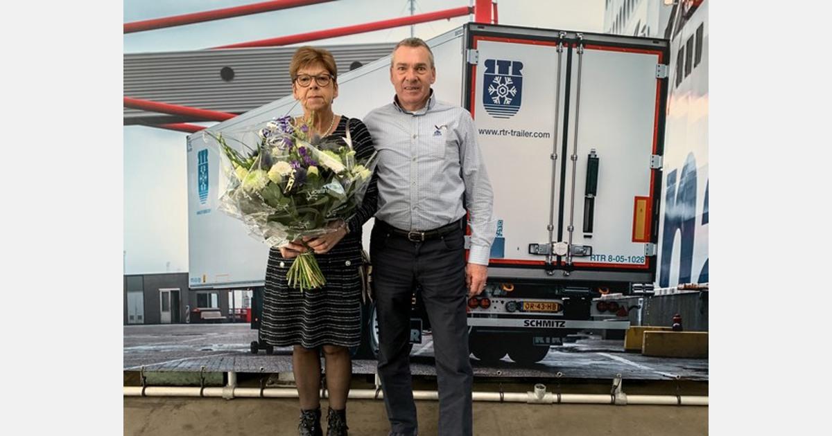 Jan van der Linden van RTR koeltrailerverhuur met pensioen - AGF.nl
