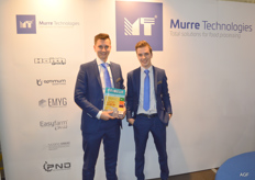 Sjoerd Bliek en Huibert Jan Zweemer van Murre Technologies. Total Solutions for food Processing.