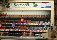 Only the finest Berries van Driscoll's.