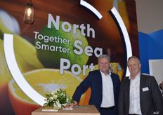 North Sea Port, Peter Geerts en Jean Ruinard. North Sea Port nr.1 in Food Port.