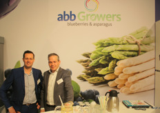Jereon Knoops en Huub Welles van ABB Growers. Fred was geblesseerd in Horst gebleven