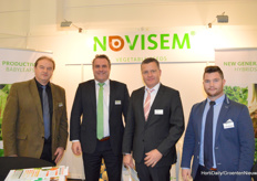 Novisem Vegetable Seeds: Piotr Zawada, Charl Dings, Hubert Khling en Giel Peulen.