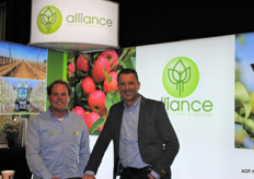 Willem Maris en Arie van Horssen van Alliance.