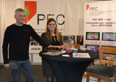 Ad Pippel en Denise van den Broek van PEC, Pippel Engineering & Contracting.
