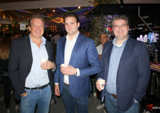 William de Groot, Leon de Groot en Rob Vissers van De Groot International / De Groot Global Logistics