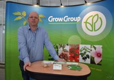 Arjan Sonneveld van plantenkwekerij Grow Group
